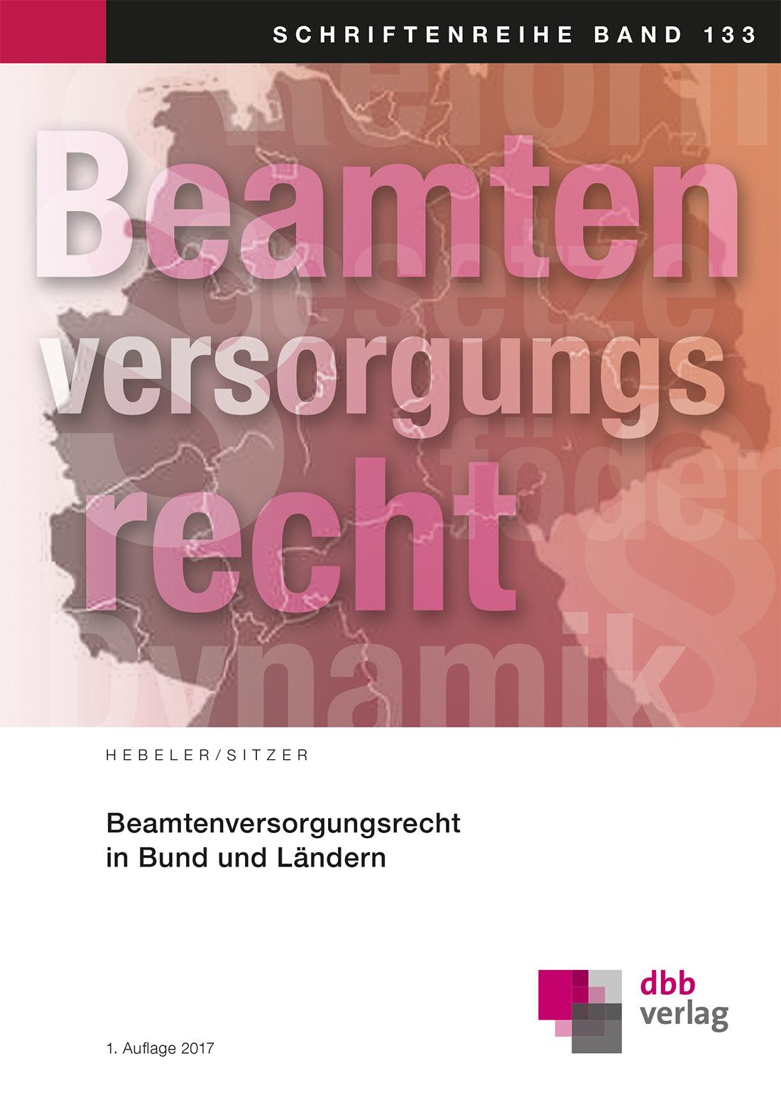 Beamtenversorgungsrecht in Bund und Ländern © DBB Verlag GmbH