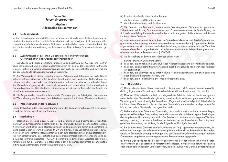 Personalvertretungsgesetz Rheinland-Pfalz