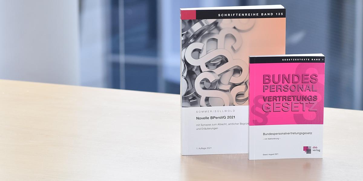 Neuerscheinungen BPersVG 2021 im DBB Verlag