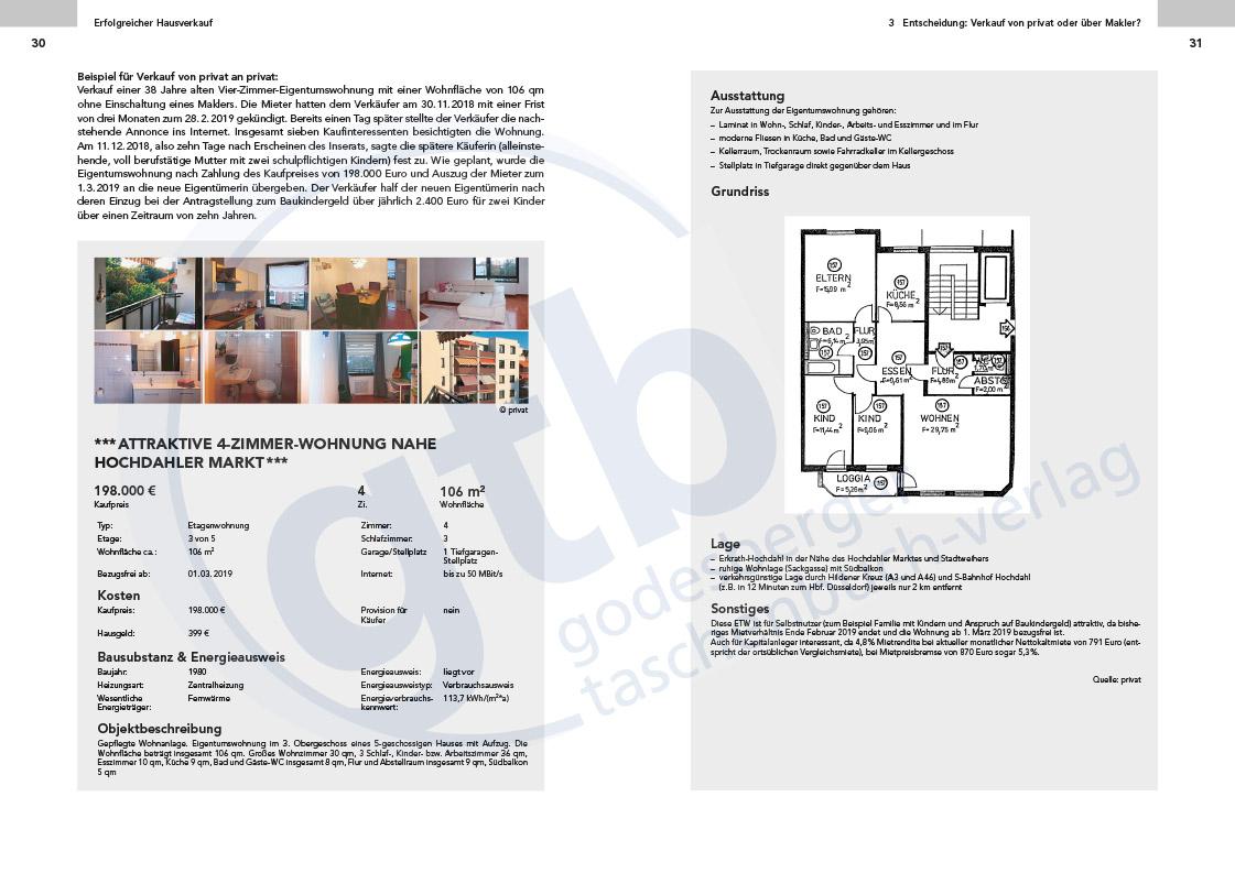 Erfolgreicher Hausverkauf von privat oder über Makler – Seite 30-31