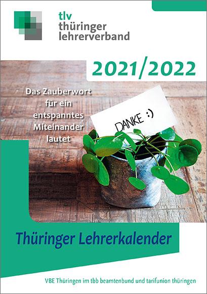 Thüringer Lehrerkalender 2021/2022 © DBB Verlag GmbH