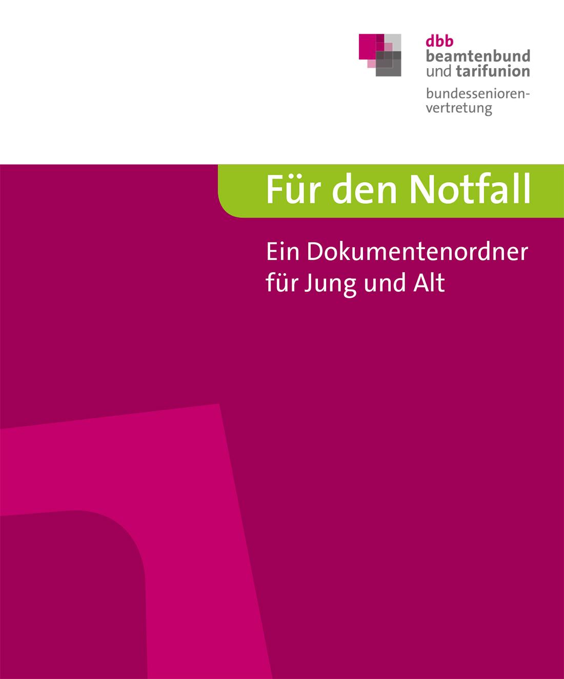 Für den Notfall © DBB Verlag GmbH