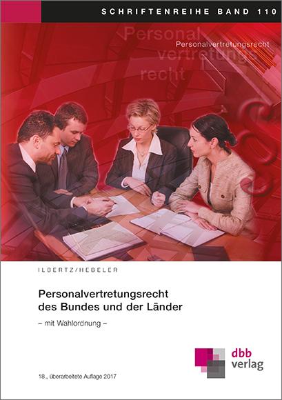 Personalvertretungsrecht des Bundes und der Länder © DBB Verlag GmbH