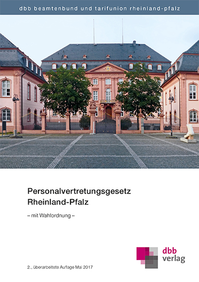 Personalvertretungsgesetz Rheinland-Pfalz © DBB Verlag GmbH