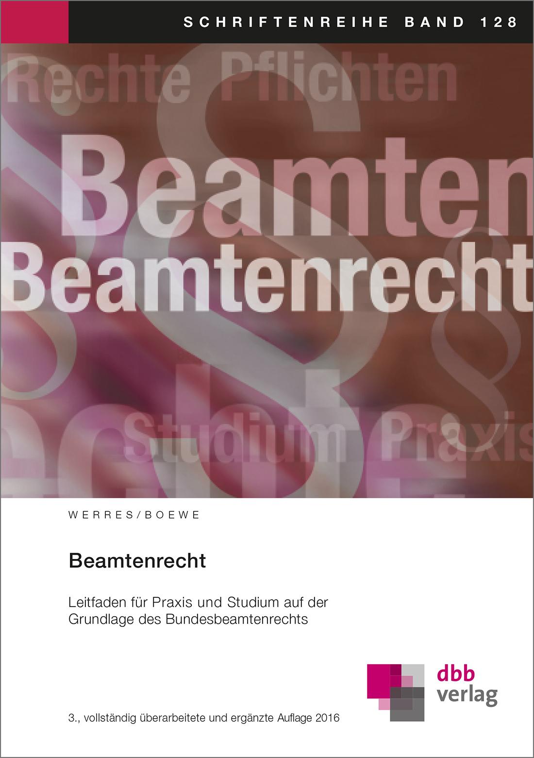 Beamtenrecht © DBB Verlag GmbH