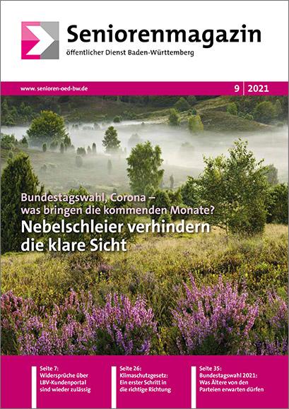 Seniorenmagazin öffentlicher Dienst Baden-Württemberg