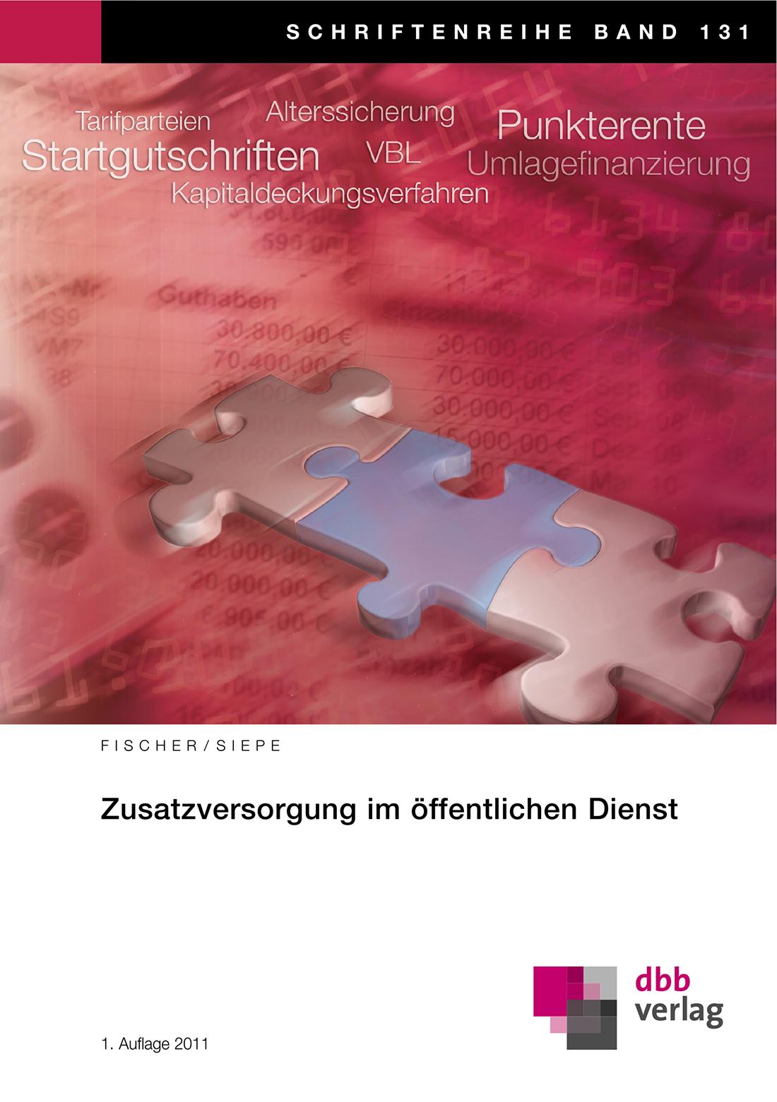 Zusatzversorgung im öffentlichen Dienst © DBB Verlag GmbH
