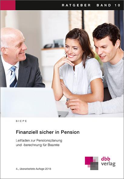 Finanziell sicher in Pension © DBB Verlag GmbH