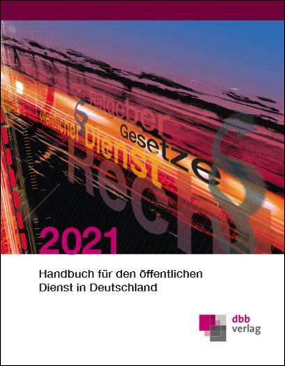 Handbuch für den öffentlichen Dienst in Deutschland 2021