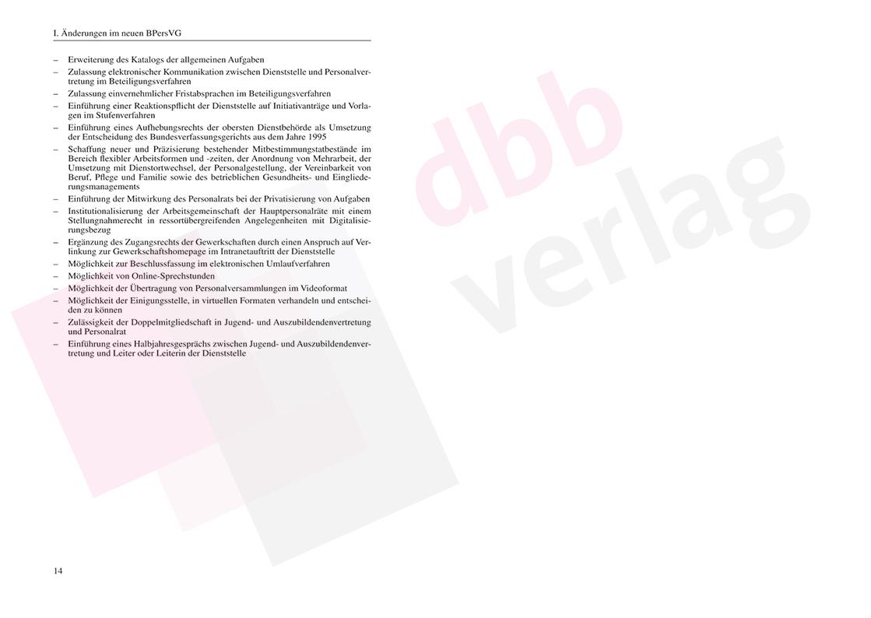 Novelle BPersVG 2021